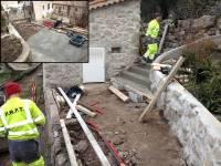 Modification de l'accès en terrasse !