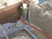 Confection du réseau (pluvial, eaux usées et ventilation)