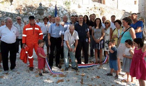 Inauguration de la Calada à Peillon