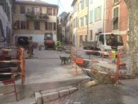Réseaux terminés et réalisation des terrassements