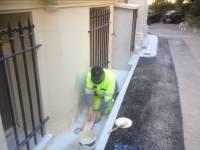Reprise de la peinture des façades