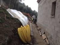 Vue du système de drainage des bétoflores